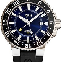 Oris Aquis GMT Date Steel Blue United States of America, New York, Brooklyn