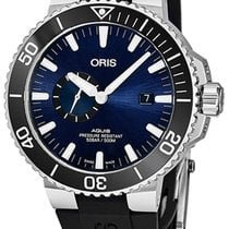 Oris Aquis Small Second Blue United States of America, New York, Brooklyn
