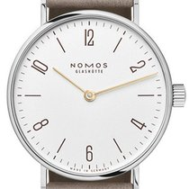 NOMOS Tangente 33 Staal 32,8mm Wit