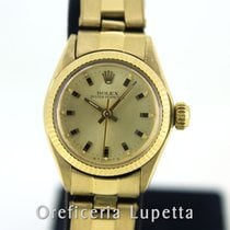 Rolex Yellow gold Automatic 25mm pre-owned Oyster Perpetual 26