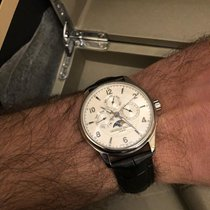 Frederique Constant Runabout Moonphase Steel 46mm Silver