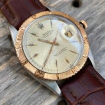 Rolex 1625 Gold/Stahl 1960 Datejust Turn-O-Graph 36mm gebraucht