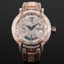 Graf Roségold 45mm Handaufzug Graf constellation customized 18K rose gold  full diamond neu
