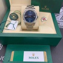 Rolex Oyster Perpetual 39 Acero 39mm Azul Sin cifras España, Arona