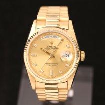 Rolex Day-Date 36 Gelbgold 36mm Gold Keine Ziffern Deutschland, Rosenheim