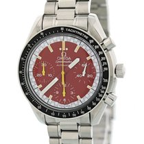 Omega Speedmaster Reduced Steel 39mm Red United States of America, New York, New York