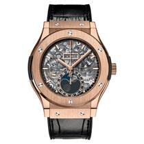 Hublot Classic Fusion Aerofusion Rose gold 45mm Transparent