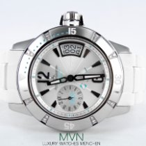 Jaeger-LeCoultre Master Compressor Diving GMT Steel 38mm White