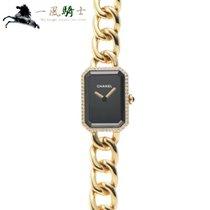 Chanel Or jaune Quartz Noir 22mm occasion Première
