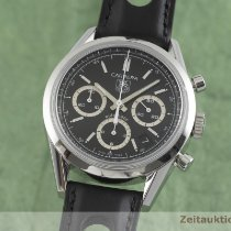 TAG Heuer Carrera Calibre 17 Staal 38.5mm Zwart