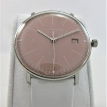 Junghans max bill Ladies Steel 34mm Pink No numerals