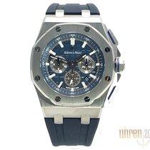 Audemars Piguet Royal Oak Offshore Chronograph Titane 42mm Bleu Sans chiffres