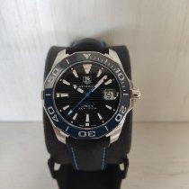 TAG Heuer Aquaracer 300M Steel 41mm Black No numerals