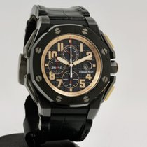 Audemars Piguet Royal Oak Offshore Keramik 48mm Sort Arabertal