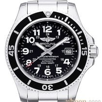 Breitling Superocean II 42 Steel 42mm Black Arabic numerals