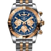 Breitling Chronomat 44 Zlato/Zeljezo 44mm Plav-modar