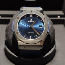 Hublot Classic Fusion Blue Titan 45mm Blau Keine Ziffern Deutschland, Berlin