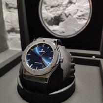 Hublot Classic Fusion Blue 511.NX.7170.LR Nowy Tytan 45mm Automatyczny