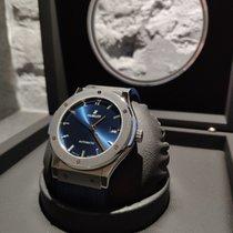 Hublot Classic Fusion Blue 511.NX.7170.LR Ny Titan 45mm Automatisk