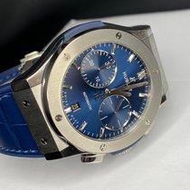 Hublot Classic Fusion Blue Tytan 45mm Niebieski Bez cyfr