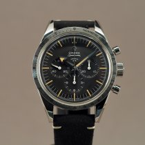Omega Speedmaster Steel 38.6mm Black
