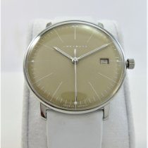 Junghans max bill Ladies Steel 34mm Champagne No numerals