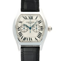 Cartier Tortue White gold 37mm Silver United States of America, California, Beverly Hills