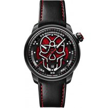 Bomberg CT43APBA.23-1.11, Bomberg, BB-01 Automatic Red Skull nou