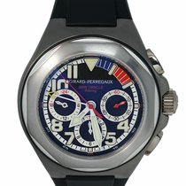 Girard Perregaux Laureato Titanium 46mm Black United States of America, New York, Lynbrook