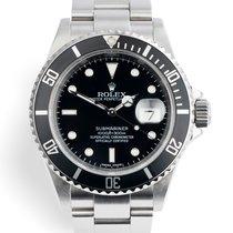 Rolex Submariner Date nouveau 2010 Remontage automatique Montre avec coffret d'origine et papiers d'origine 16610