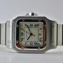Cartier Santos Galbée Stahl 41mm Weiß Römisch Deutschland, Iffezheim