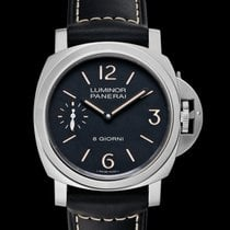 Panerai Luminor Base Steel 44mm Black United States of America, California, Burlingame