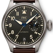 IWC Big Pilot новые 2021 Автоподзавод Часы с оригинальными документами и коробкой IW501004