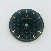 Universal Genève Compax Universal Geneve Compax Quadrante Nero Ø28.45mm καινούριο