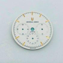 Universal Genève Compax Universal Geneve Compax Quadrante Bianco Ø28.45mm καινούριο