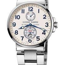 Ulysse Nardin Marine Chronometer 41mm yeni 2020 Otomatik Orijinal kutuya ve orijinal belgelere sahip saat 263-66-7