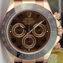 Rolex Chronograph Brown 40mm pre-owned Daytona