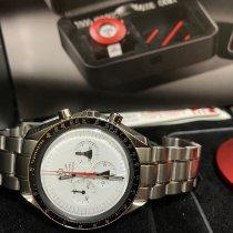 歐米茄 Speedmaster Professional Moonwatch 鋼 42mm 白色 無數字 香港, hong kong