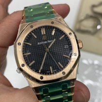 Audemars Piguet 15500OR.OO.1220OR.01 Rose gold 2021 Royal Oak Selfwinding 41mm new United States of America, New York, Manhattan