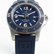 Breitling Steel Automatic Blue 44mm new Superocean 44