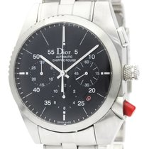 Dior Chiffre Rouge Staal 38mm Zwart