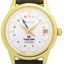 Seiko Yellow gold Automatic Silver 39.5mm pre-owned Grand Seiko