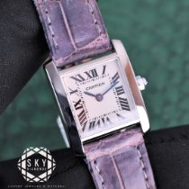 Cartier Tank Française White gold 20mm White