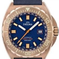 Delma Bronze 44mm Automatic Ref. 31601.670.6.048 new