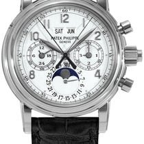 Patek Philippe 5004G White gold 2002 Perpetual Calendar Chronograph 37mm new United States of America, New York, New York