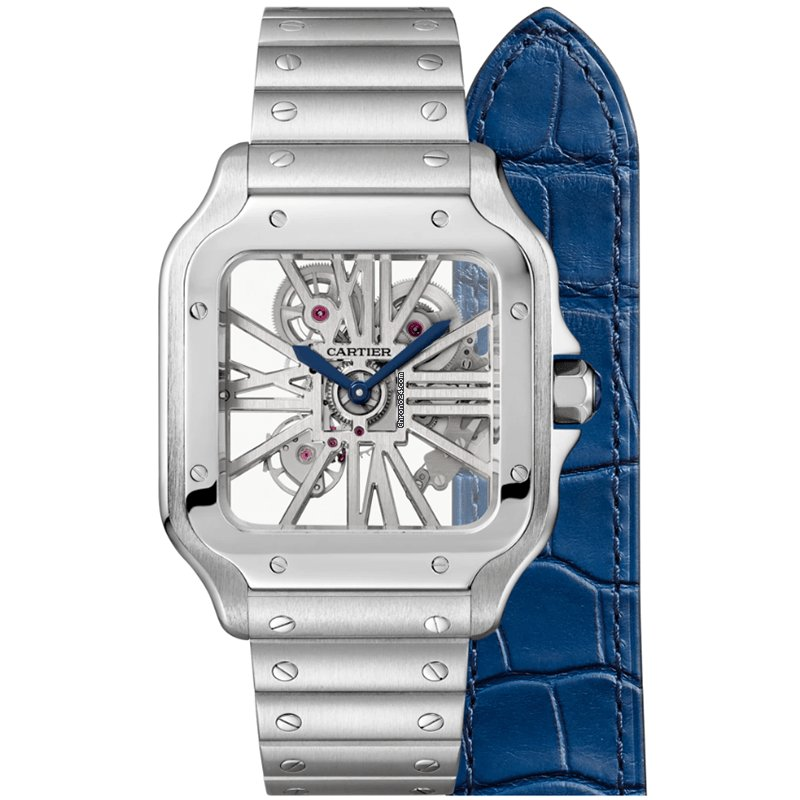 Cartier Santos (submodel) WHSA0007 new