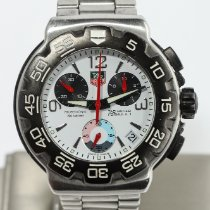 TAG Heuer Formula 1 Quartz Staal 41mm Wit Arabisch