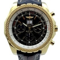 Breitling Yellow gold Automatic Black 48mm pre-owned Bentley 6.75