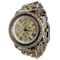 Breitling Crosswind Racing Steel 43mm Champagne Roman numerals United States of America, New York, NEW YORK CITY
