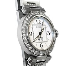 Cartier Pasha C Steel 35mm White Arabic numerals United States of America, New York, NEW YORK CITY